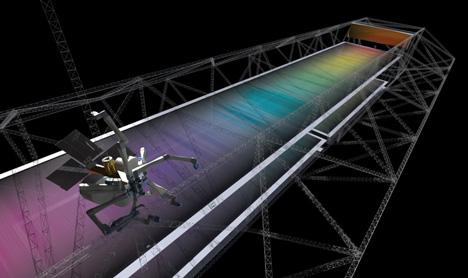 SpiderFab 3D-printing in space