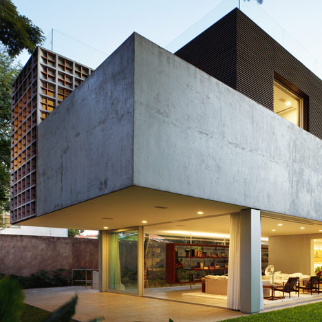 Sumaré House by Isay Weinfeld Arquitecto