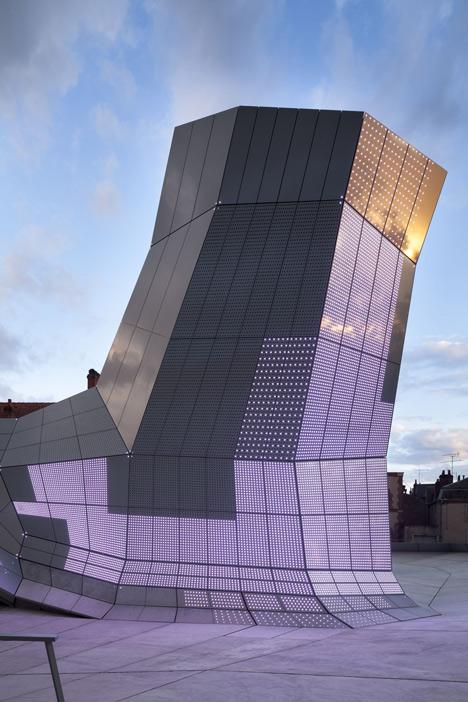 The Turbulences by Jakob + MacFarlane at the FRAC Centre