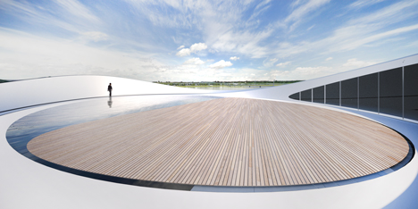 ARC River Pavillion by Asymptote