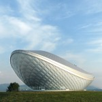 ARC River Culture Pavilion by Asymptote