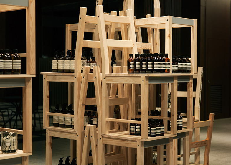 Aesop Midtown Installation by Hiroko Shiratori