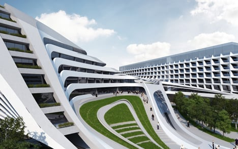 Beko Masterplan by Zaha Hadid Architects