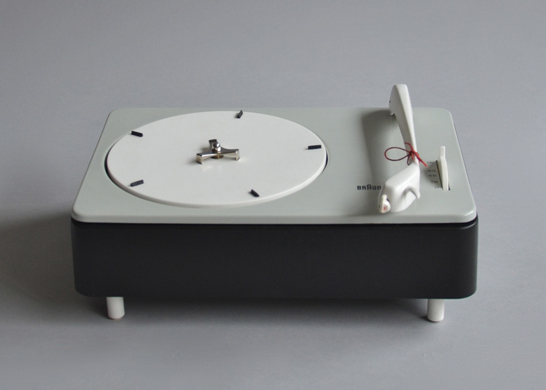 PC 3 SV record player by Dieter Rams, Gerd Alfred Müller and Wilhelm Wagenfeld, 1955