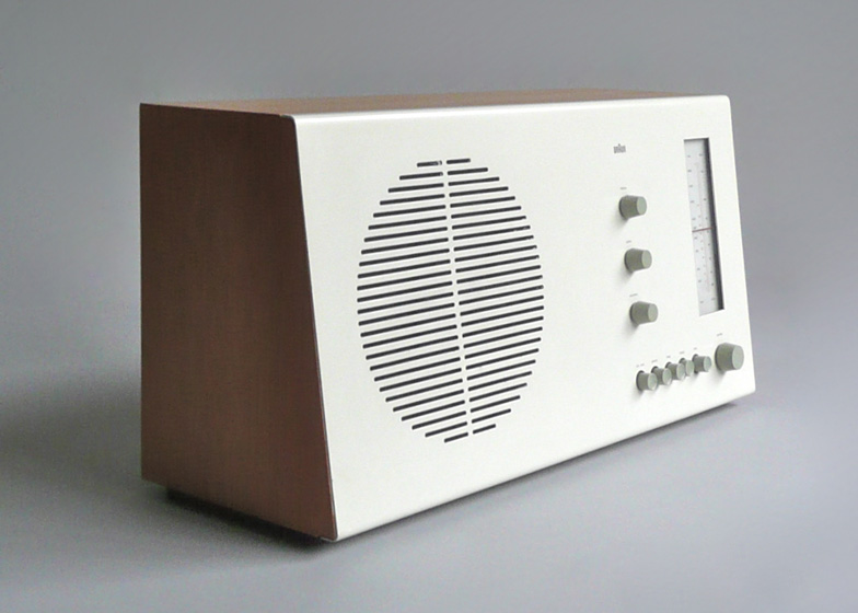 RT 20 tischsuper table radio by Dieter Rams, 1961