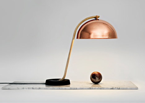 Cloche Lamp by Lars Beller Fjetland