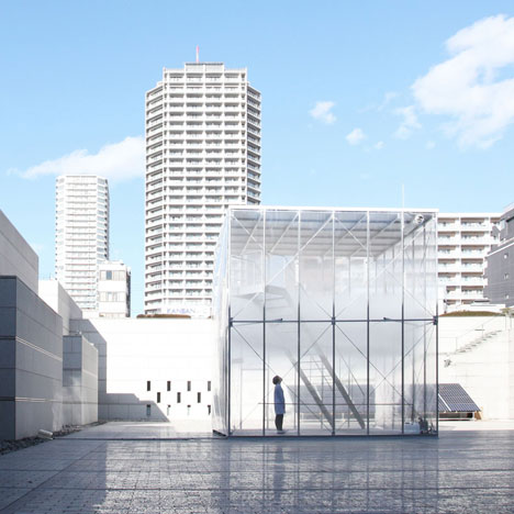 Cloudscapes at MOT by Tetsuo Kondo Architects