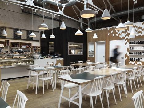 Cornerstone Cafe by Paul Crofts Studio