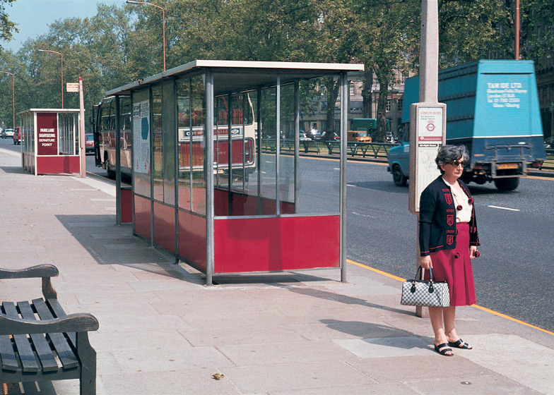 Abacus bus shelter, 1959