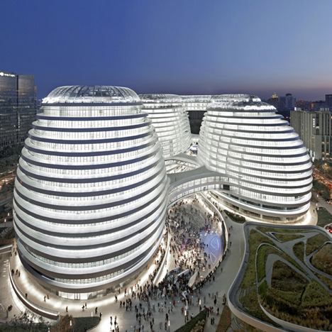 "Chinese heritage group ""offended"" by Zaha Hadid's RIBA Award for Galaxy Soho"