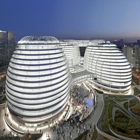 "Chinese heritage group ""offended"" by Zaha Hadid's RIBA Award for Galaxy Soho"
