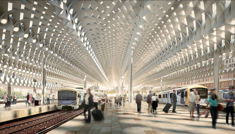 Flinders Street Station by Herzog & de Meuron and Hassell