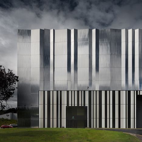 High Voltage Laboratory by ACXT Architects