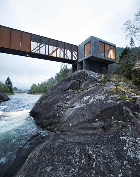 Høse Bridge by Rintala Eggertsson Architects