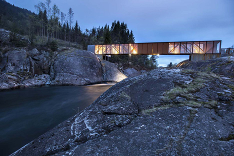 Høse Bridge by Rintala Eggertsson Architects