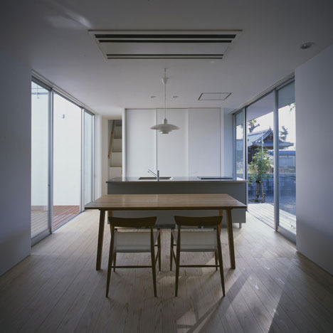 House in Kamoshima by Horibe Associates