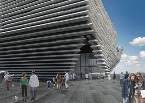 Green light for Kengo Kuma's V&A at Dundee