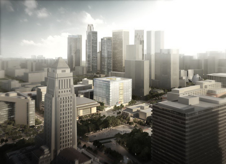 Los Angeles Federal Courthouse by SOM