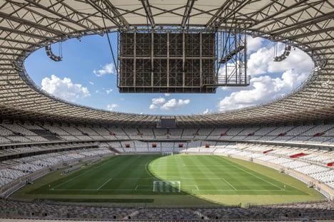 Mineirão Stadium renovation by BCMF Architects