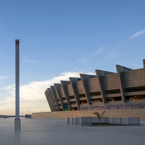 Mineirão Stadium renovation by BCMF Architects