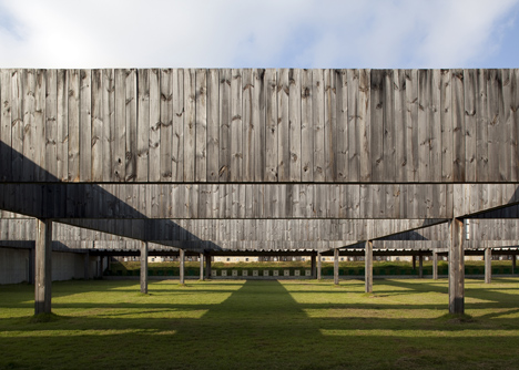 National Shooting Centre by BCMF Architects