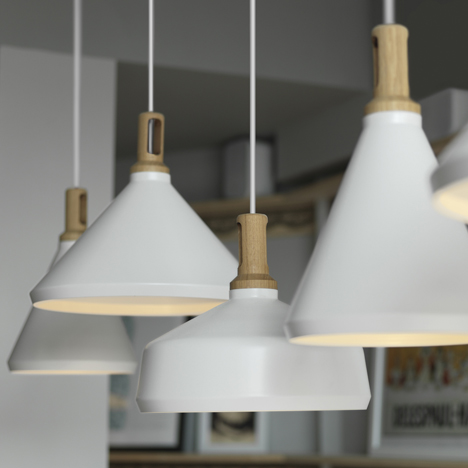 Nonla lamps by<br /> Paul Crofts Studio