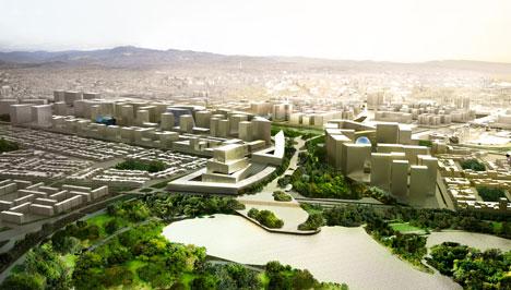 dezeen_OMA masterplan for Bogota_1