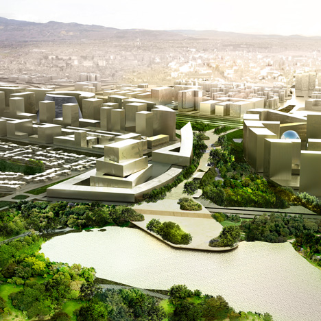 OMA to masterplan civic centre in Colombia's capital