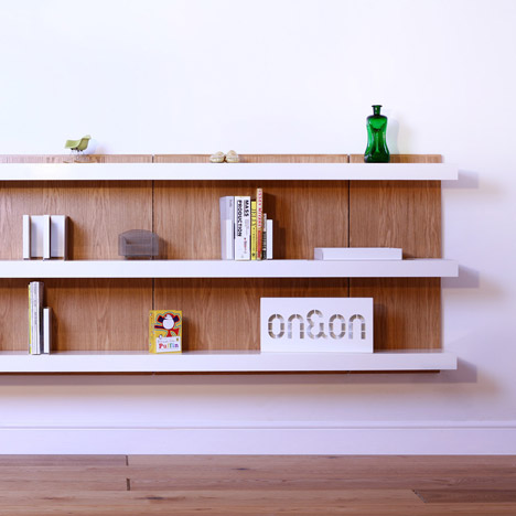 ON&ON shelving systems to launch at Design Junction