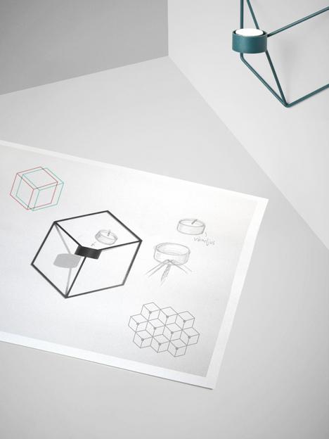 POV Candleholder by Note Design Studio for Menu