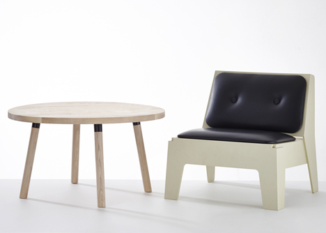 Partridge tables by DesignByThem