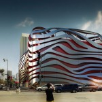 KPF to wrap steel ribbons around LA's Petersen Automotive Museum