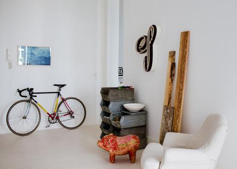 Prenzlauerberg apartment by Sophie von Bulow
