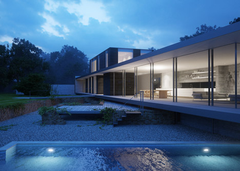 Private House in Suffolk by Strom Architects