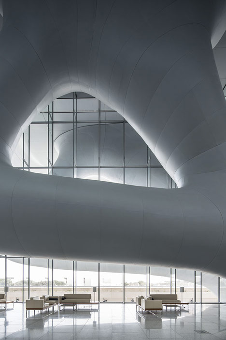 Qatar National Convention Centre by Arata Isozaki