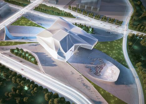 Sejong Performing Arts Center by Asymptote