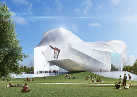 Sejong Performing Arts Center by Asymptote