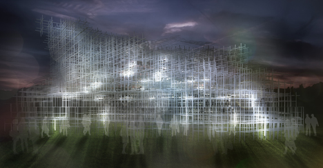 Serpentine Pavilion Intervention by United Visual Artists