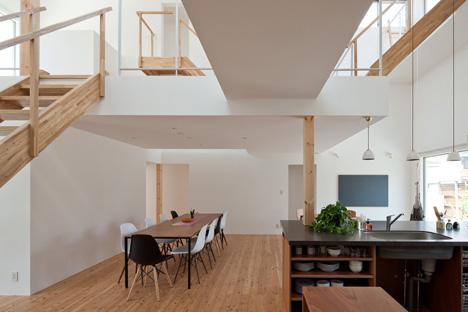 Share House Lt Josai In Japan By Naruse Inokuma Architects