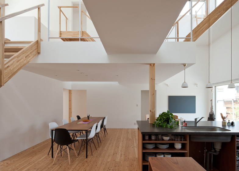 Share House LT Josai by Naruse Inokuma Architects