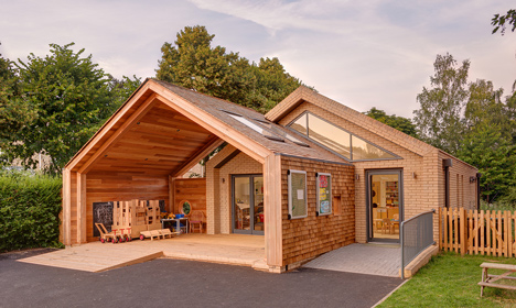 St Mary's Infant School by Jessop and Cook Architects