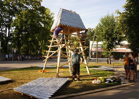 Story Tower by RTU International Architecture Summer School