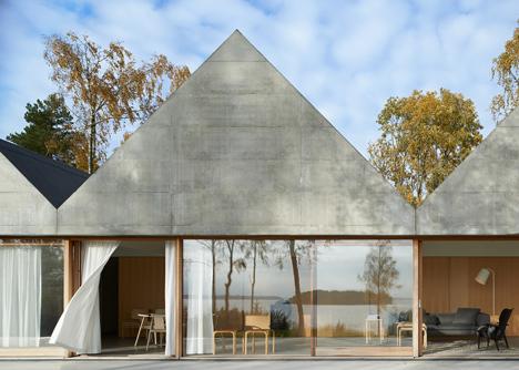 Summerhouse Lagnö by Tham & Videgård Arkitekter