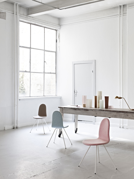 Tongue chair by Arne Jacobsen relaunched by Howe
