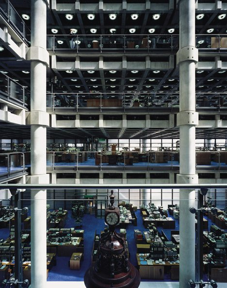 """We thought Lloyd's building was the ultimate in technology, but it's practically hand made"""