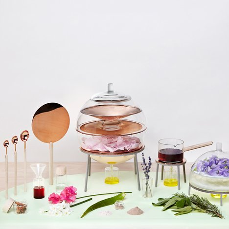 The Alchemist's Dressing Table by Lauren Davies