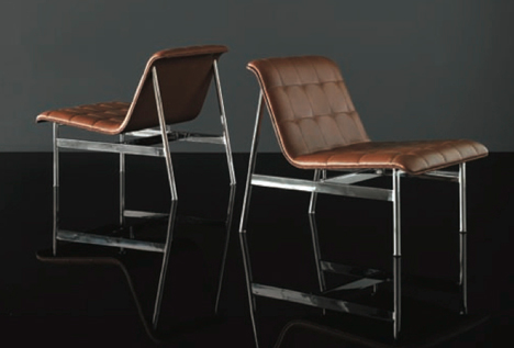 CP Lounge Chairs by Charles Pollock for Benhardt