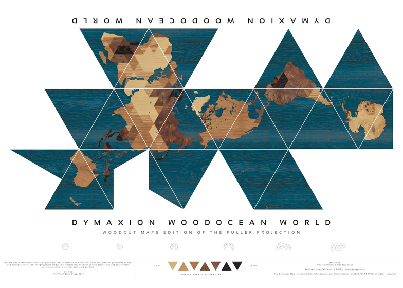 Buckminster fullers dymaxion world map redesigned gumiabroncs Image collections