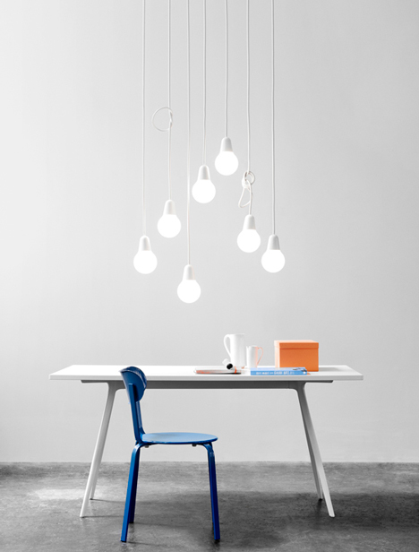 Bulb Fiction pendant lamp by KiBiSi for HighTower