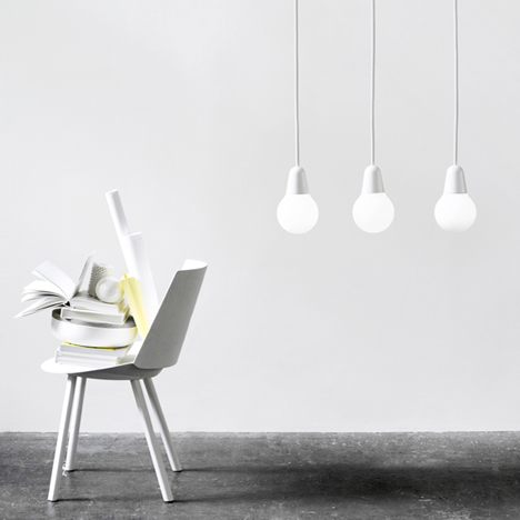 Bulb Fiction pendant lamp by KiBiSi